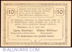 10 Heller 1920 - Alberndorf