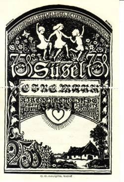 Image #2 of 1 Mark (Doppelscheine 25 & 75 Pfennig) 1920 - Süsel