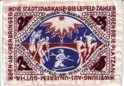 25 Mark 1921 - Bielefeld