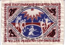 Imaginea #2 a 25 Mark 1921 - Bielefeld