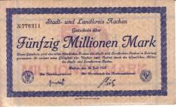 Image #1 of 50 000 000 Mark 1923 - Aachen