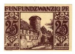 Image #1 of 25 Pfennig 1921 - Paderborn