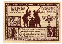 Image #2 of 1 Mark 1921 - Paderborn