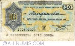 50 Lire 1976 (9. XI.) - Roma