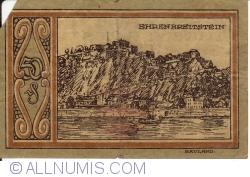 Image #2 of 50 Pfennig 1921 - Ehrenbreitstein