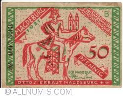 Imaginea #1 a 50 Pfennig 1921 - Magdeburg