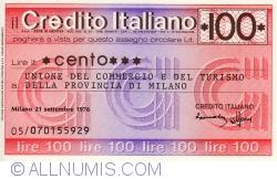 Image #1 of 100 Lire 1976 (21. IX.) - Milano