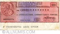 Imaginea #1 a 100 Lire 1976 (30. XI.) - Torino