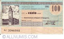 Image #1 of 100 Lire 1977 (16. VI.) - Bergamo