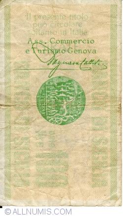 Image #2 of 100 Lire 1976 (2. IV.) - Genova
