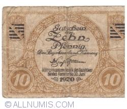 Image #1 of 10 Pfennig 1920 - Kamenz