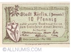 Imaginea #1 a 10 Pfennig 1920 - Körlin