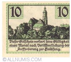 Image #2 of 10 Pfennig 1921 - Kamenz