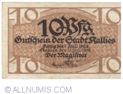 Image #1 of 10 Pfennig 1919 - Kallies