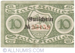 Image #2 of 10 Pfennig 1919 - Kallies