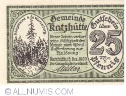 Image #1 of 25 Pfennig 1920 - Katzhütte