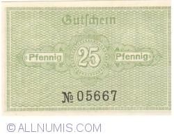 Image #2 of 25 Pfennig 1920 - Katzhütte