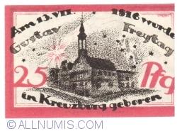 Image #2 of 25 Pfennig 1921 - Kreuzburg (Oberschlesien)