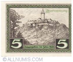 Image #2 of 5 Pfennig 1921 - Kahla