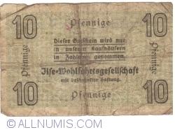 Imaginea #2 a 10 Pfennige ND - Grube Ilse