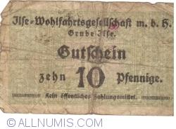 10 Pfennige ND - Grube Ilse