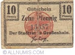 Image #1 of 10 Pfennig 1918 - Grossenhain