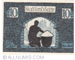 Image #2 of 10 Pfennig 1920 - Gross Salze