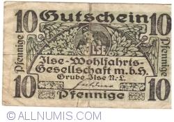 Imaginea #1 a 10 Pfennige ND - Grube Ilse