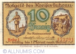 Imaginea #1 a 10 Pfennig ND - Guhrau (Reihe I)