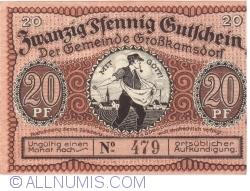 Image #1 of 20 Pfennig 1921 - Grosskamsdorf