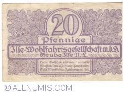 Imaginea #2 a 20 Pfennige ND - Grube Ilse