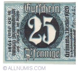 Image #1 of 25 Pfennige 1920 - Grimma