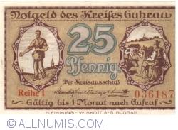 Imaginea #1 a 25 Pfennig ND - Guhrau (Reihe I)