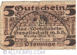 Imaginea #1 a 5 Pfennige ND - Grube Ilse