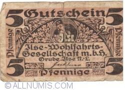 Image #1 of 5 Pfennige ND - Grube Ilse