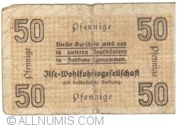 Image #2 of 50 Pfennige ND - Grube Ilse