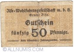 Imaginea #1 a 50 Pfennige ND - Grube Ilse