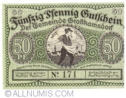 Image #1 of 50 Pfennig 1921 - Grosskamsdorf