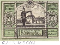 Image #2 of 50 Pfennig 1921 - Grosskamsdorf