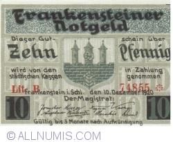Image #1 of 10 Pfennig 1920 - Frankenstein