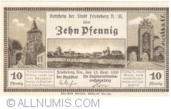Image #1 of 10 Pfennig 1920 - Friedeberg