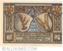 Image #1 of 10 Pfennig 1921 - Forst
