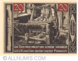Image #2 of 20 Pfennig 1921 - Forst