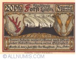 Image #1 of 20 Pfennig 1921 - Forst