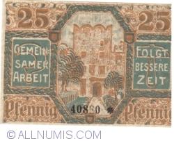 Image #2 of 25 Pfennig 1920 - Frankenstein