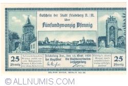 Image #1 of 25 Pfennig 1920 - Friedeberg