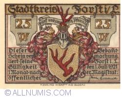 Image #1 of 25 Pfennig 1921 - Forst
