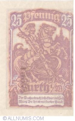 Imaginea #2 a 25 Pfennig 1921 - Furth im Wald