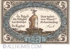 Image #1 of 5 Pennig 1920 - Freienwalde in Pommern