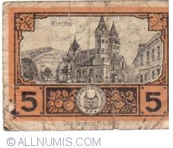 Image #2 of 5 Pfennig 1920 - Freyburg (Unstrut)